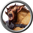 Bugbear monster token for Roll20.net