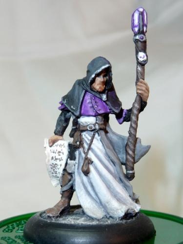 Satheras, Elf Warlock, front
